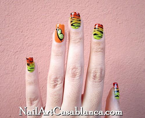 Nail art donnez un air de tribal spiring vos ongles - Dessin ongle facile faire sois meme ...